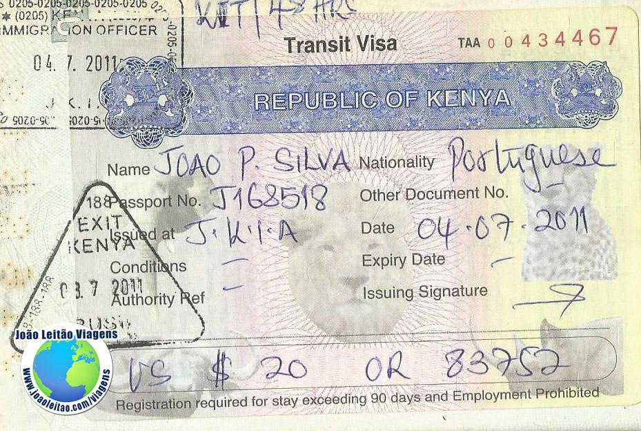 Visa Kenya (airport)