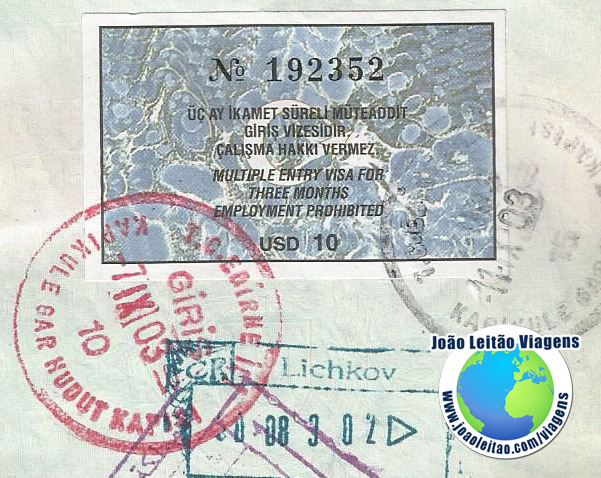 Visa Turkey (10 dollars)