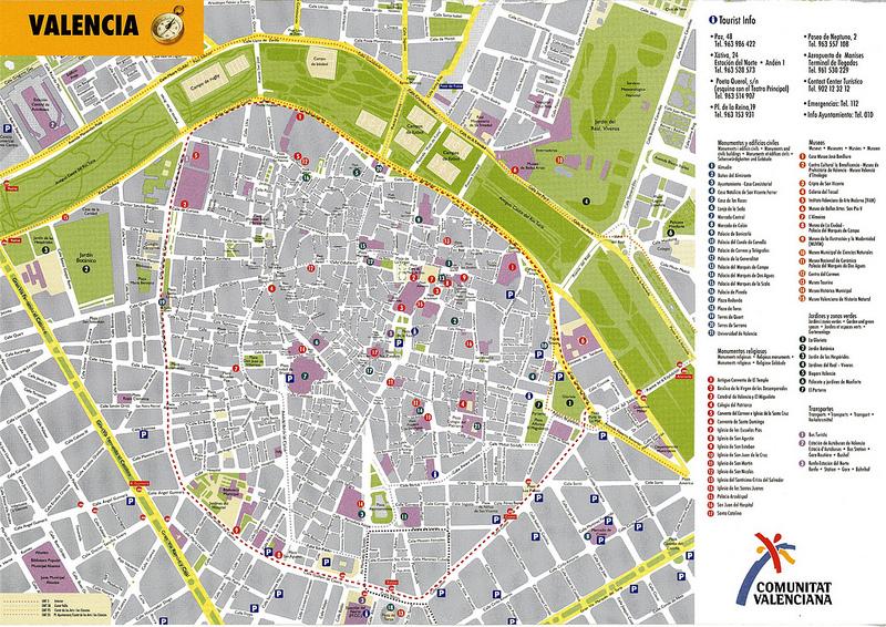 Mapas de valencia espanha for Cream valencia fotos