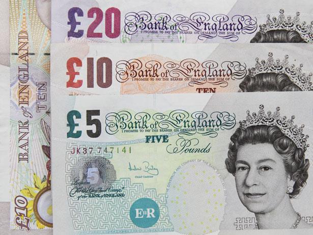 Dinheiro em Londres