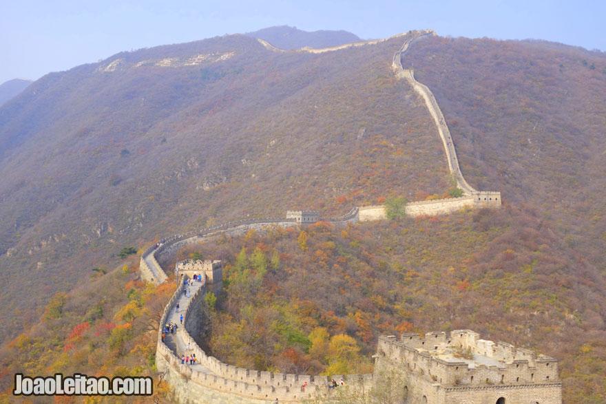 O país mais populoso do mundo é a China