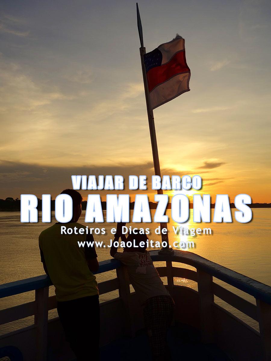 70 dicas importantes para viajar de barco no Rio Amazonas