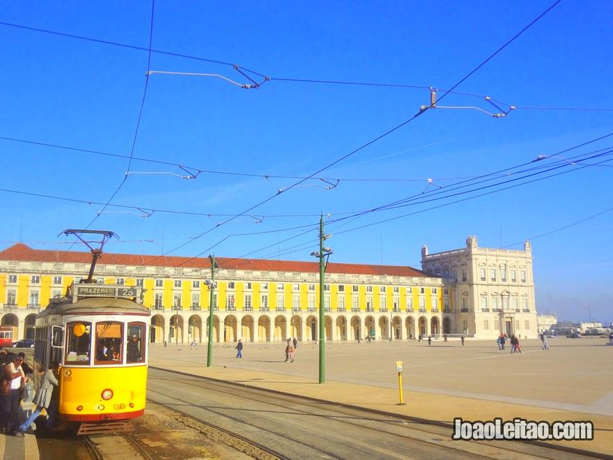 Foto do Terreiro do Paço em Lisboa