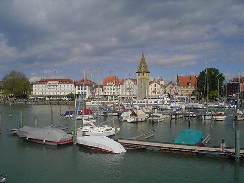 Fotografias de Lindau e Lago Constance Alemanha