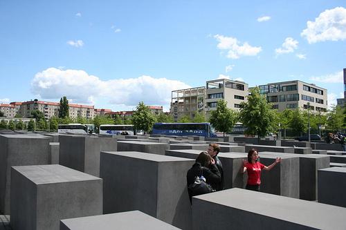 Fotografias Monumento Memorial Holocausto Berlim Alemanha