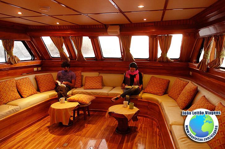 Viajar barco Galapagos