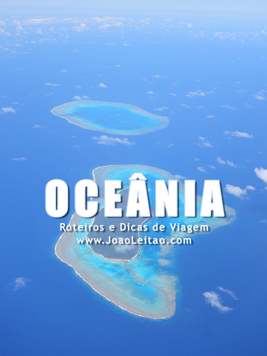 Destinos para Viajar na Oceânia
