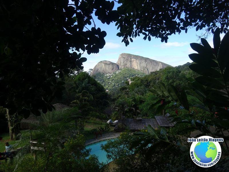 Bonita vista do Morro Dois Irmãos, Rio de Janeiro Brasil