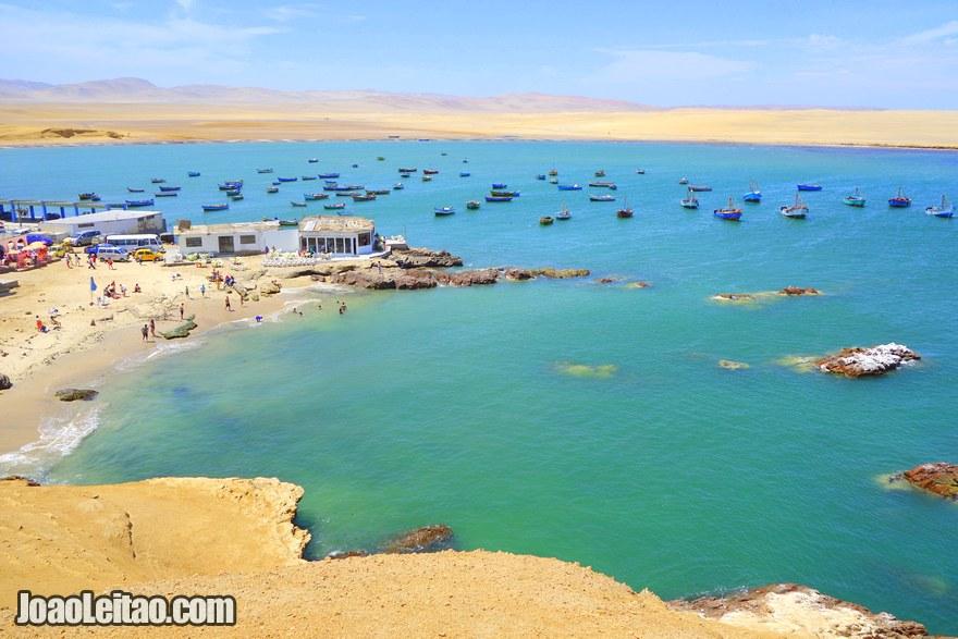 Bahía de Lagunillas Peru