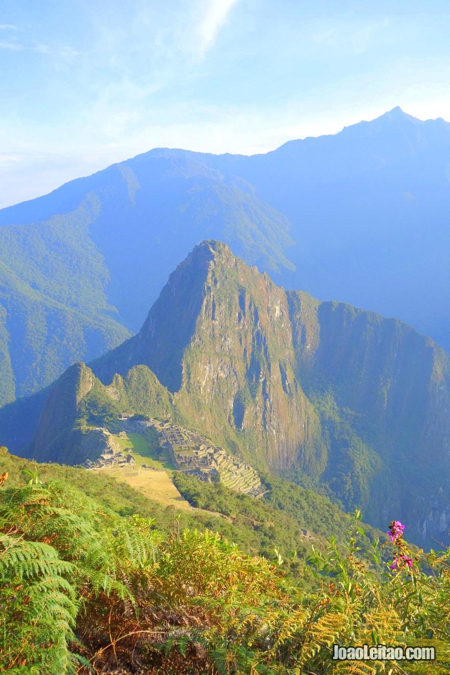Vista do Santuário Histórico de Machu Picchu