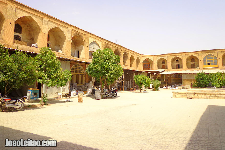 Bazar Vakil em Shiraz