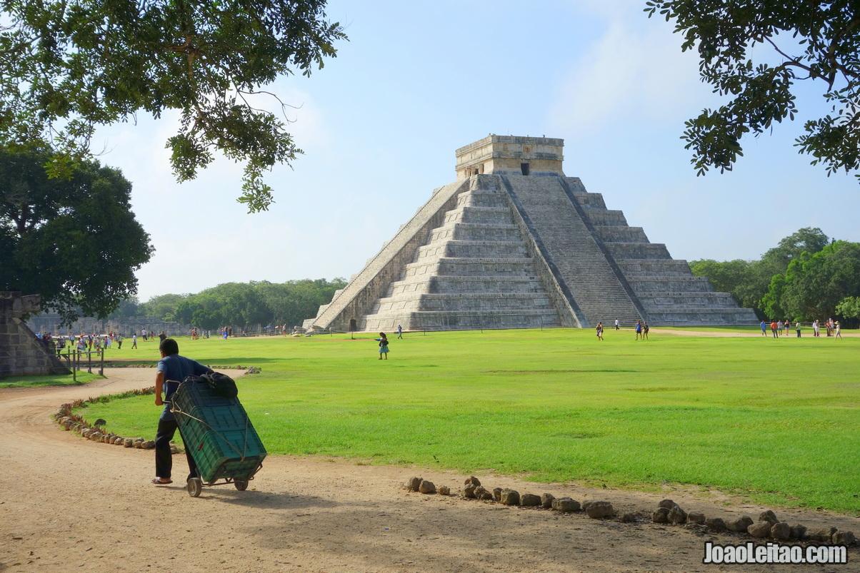 CHICHÉN ITZÁ NO MÉXICO PIRÂMIDE DE CHICHÉN ITZÁ NO MÉXICO