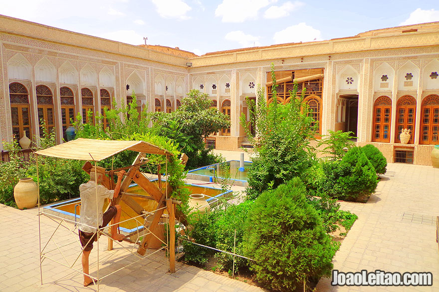 Museu da Água em Yazd