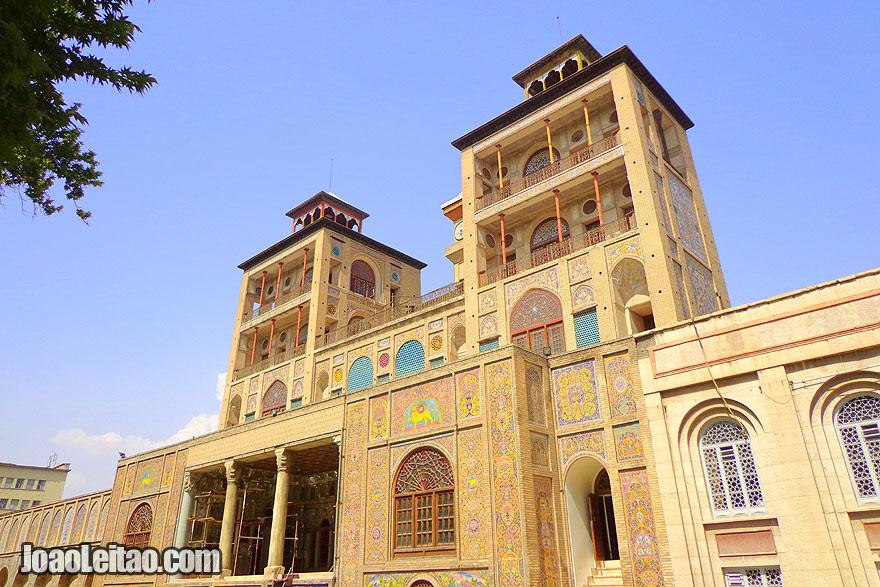 Palácio Golestan em Teerão