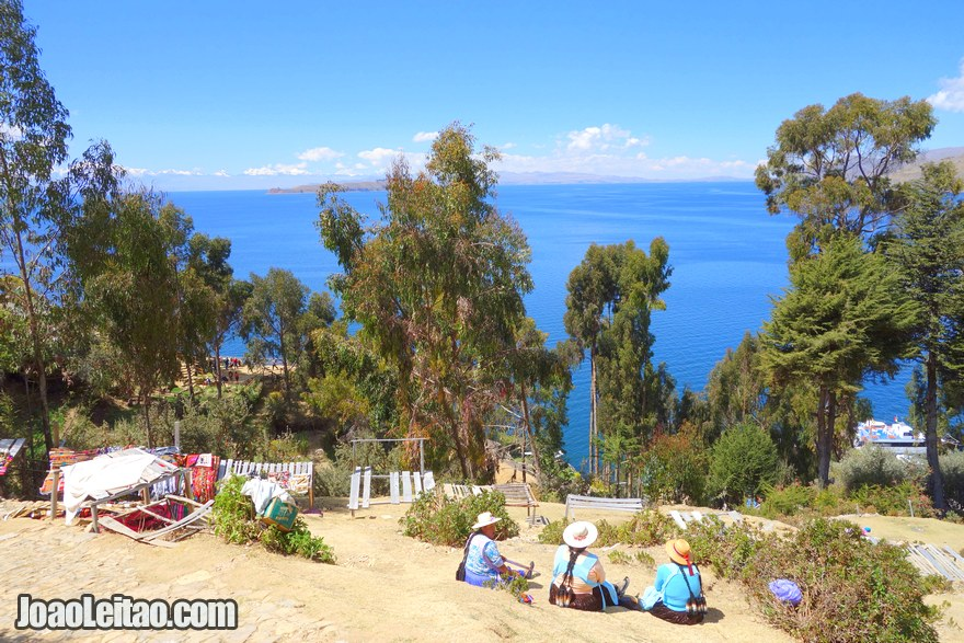 Vista do Lago Titicaca, Visitar a Bolívia
