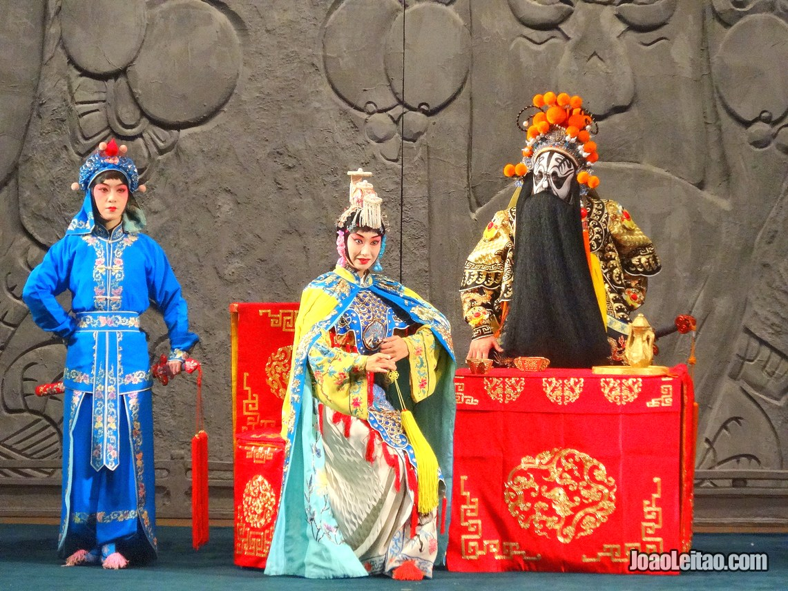 Ópera de Pequim - Viajar na China