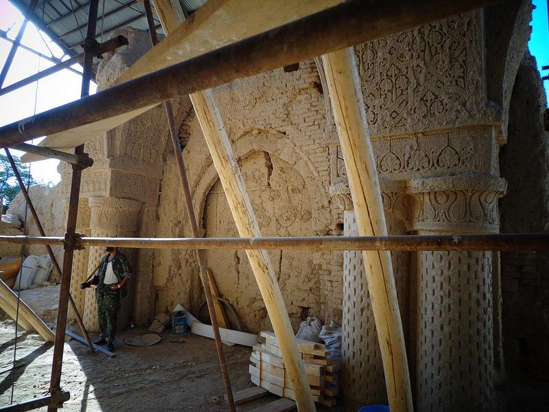 Fotografia da Mesquita No Gombad no Afeganistão