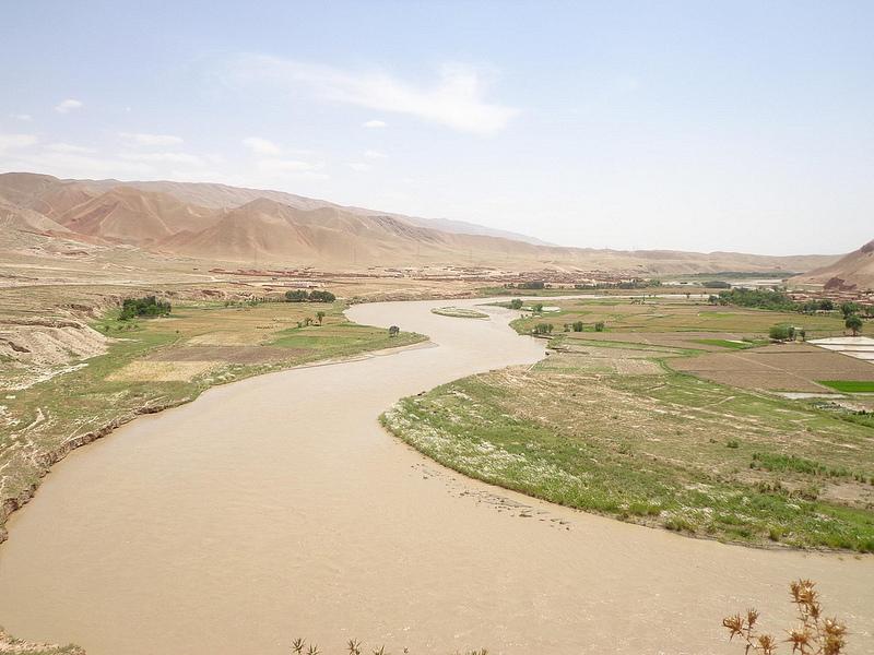 Paisagem do Norte do Afeganistão