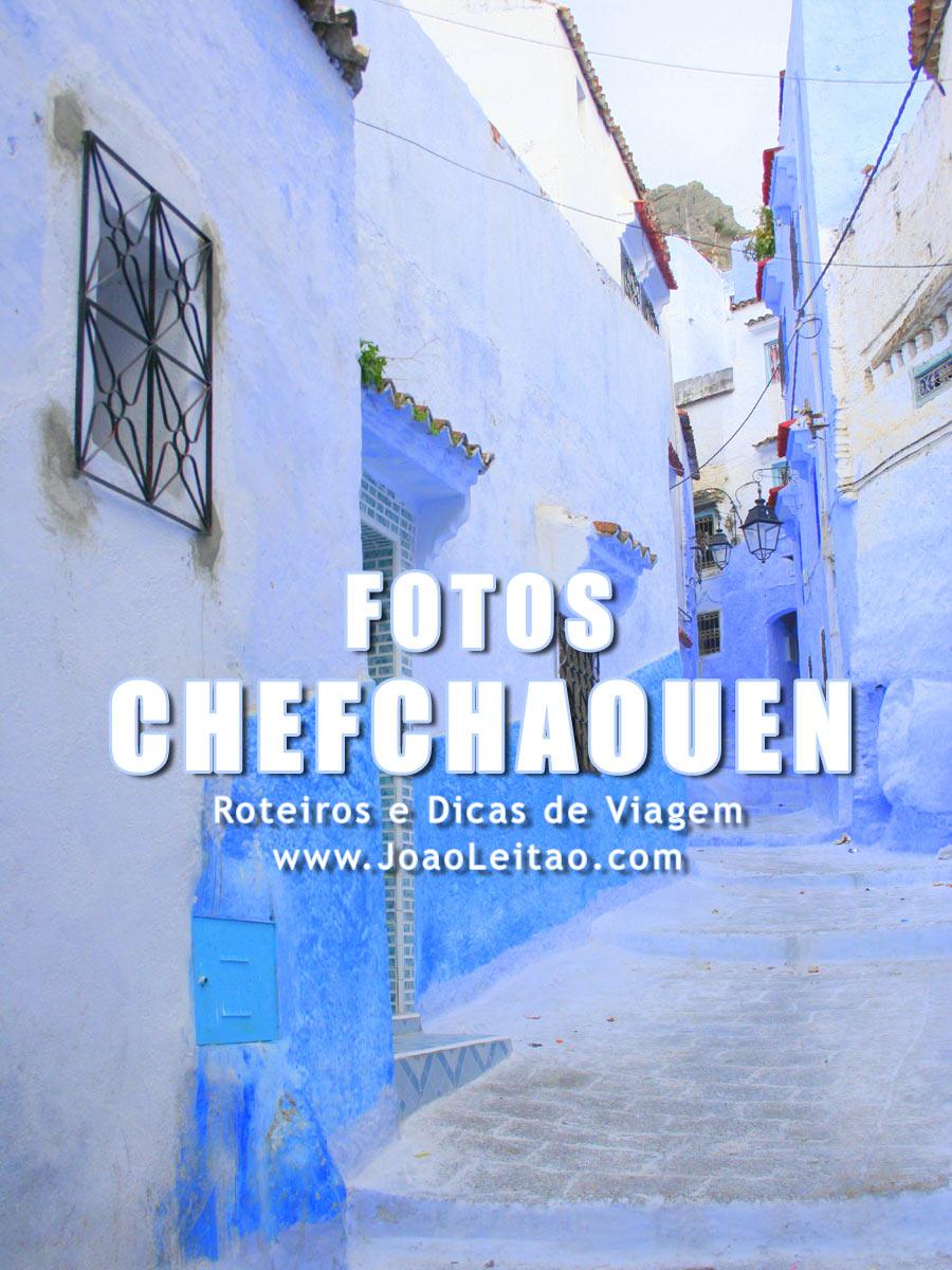 Cores Mágicas de Chefchaouen - Marrocos