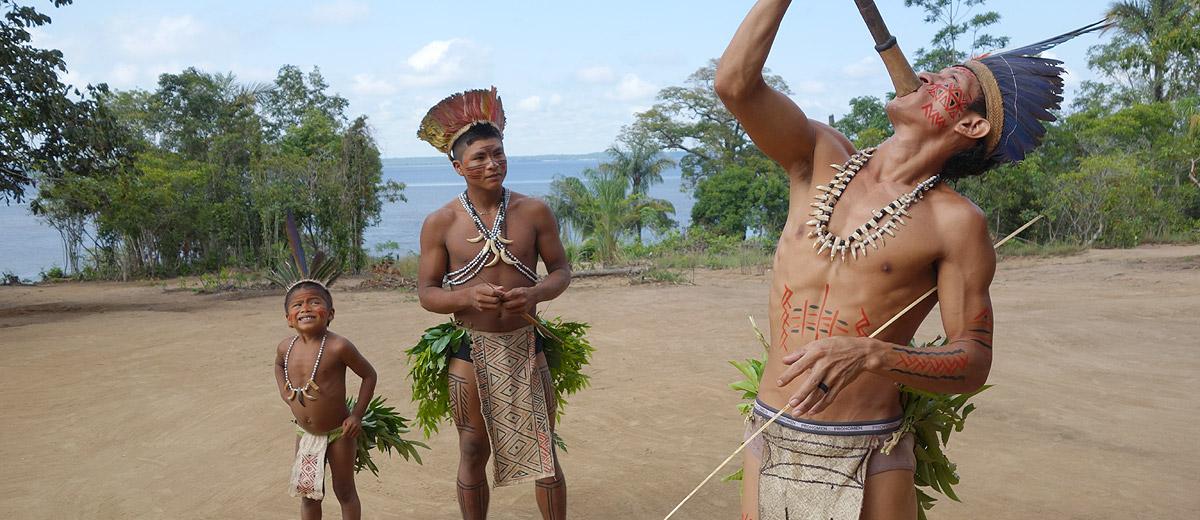 Tribo Indio Amazonia