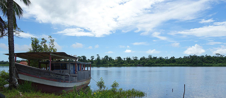 Mana, na Guiana Francesa