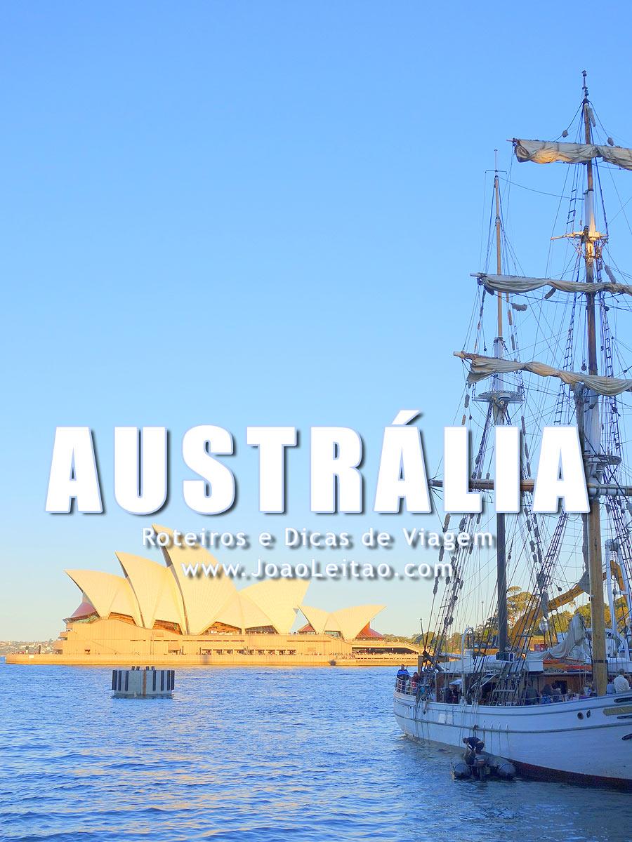 Visitar Austrália - Roteiros e Dicas de Viagem