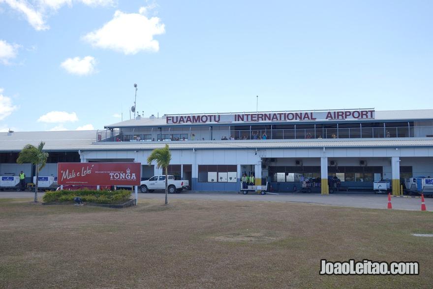 Aeroporto de Nukualofa no Tonga