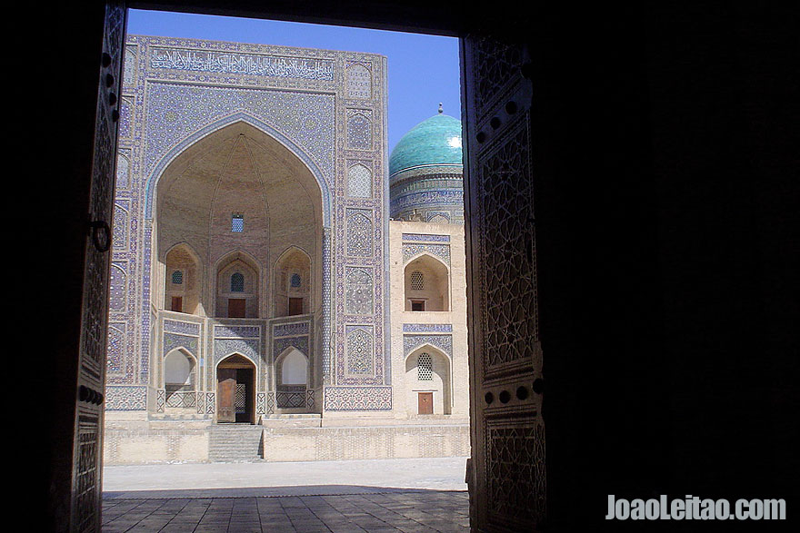 Madrassa Mir i Arab em Bucara
