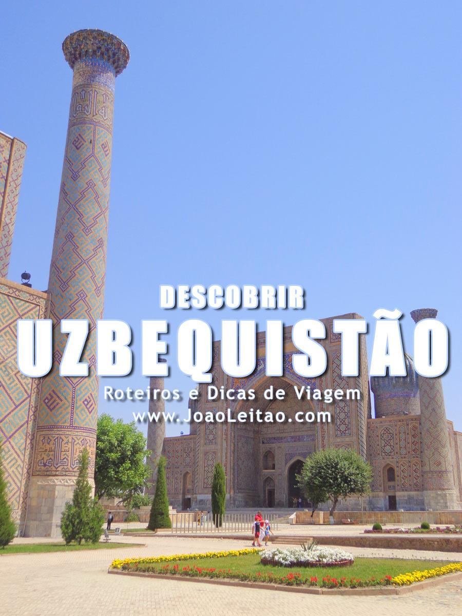 Descobrir Uzbequistão - 18 Lugares Especiais para Visitar