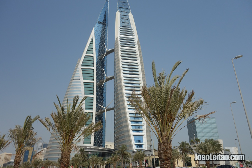Bahrain World Trade Center em Manama