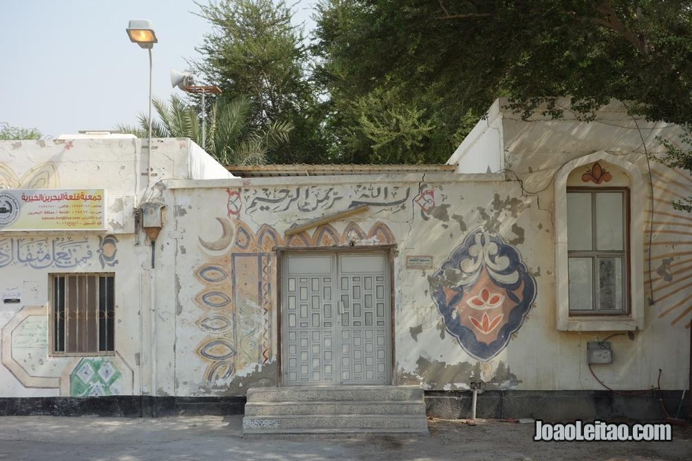 Casas pintadas no Bahrein