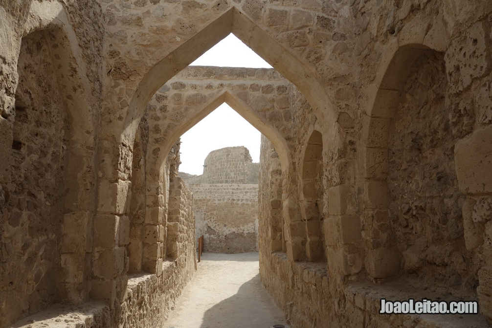 Forte português de Qal'at al-Bahrain em Manama