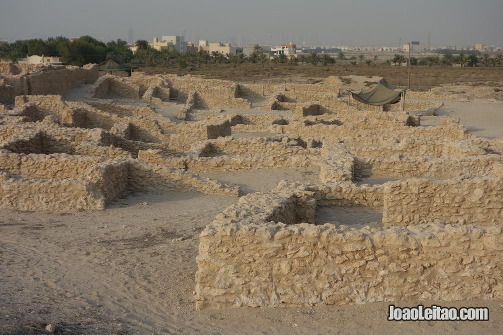 Ruínas de Saar que datam de 3900 aC, Idade do Bronze bareinita
