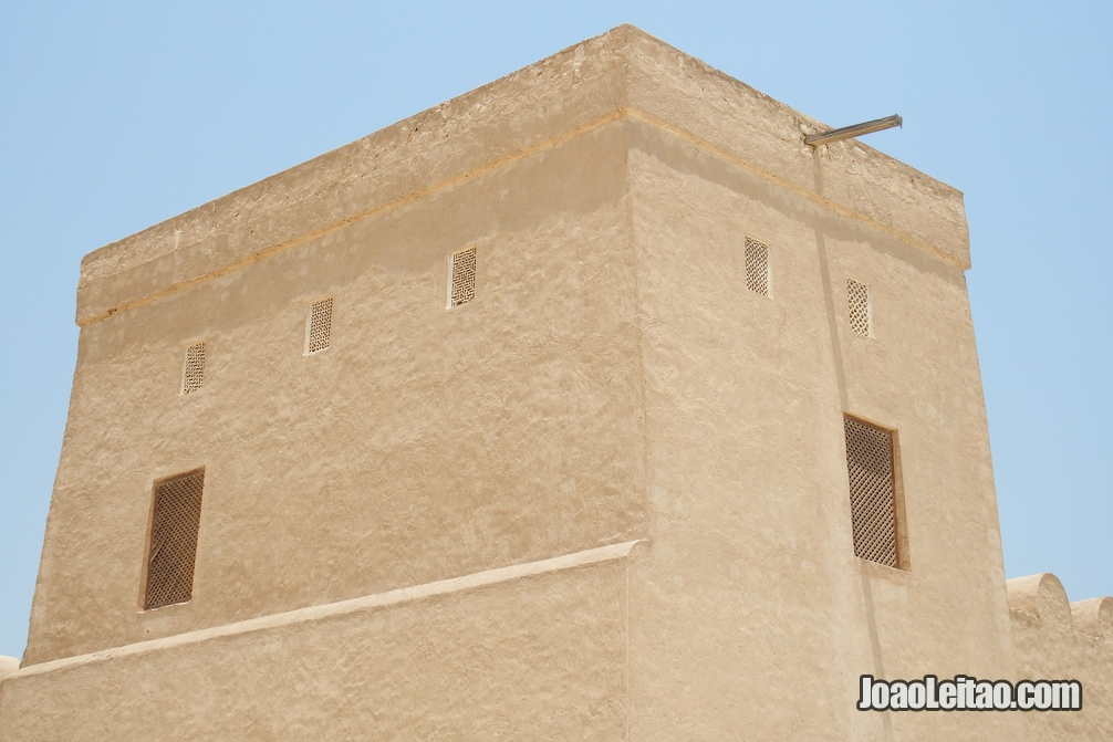 Torre do Forte Shaikh Salman bin Ahmed em Riffa no Barém