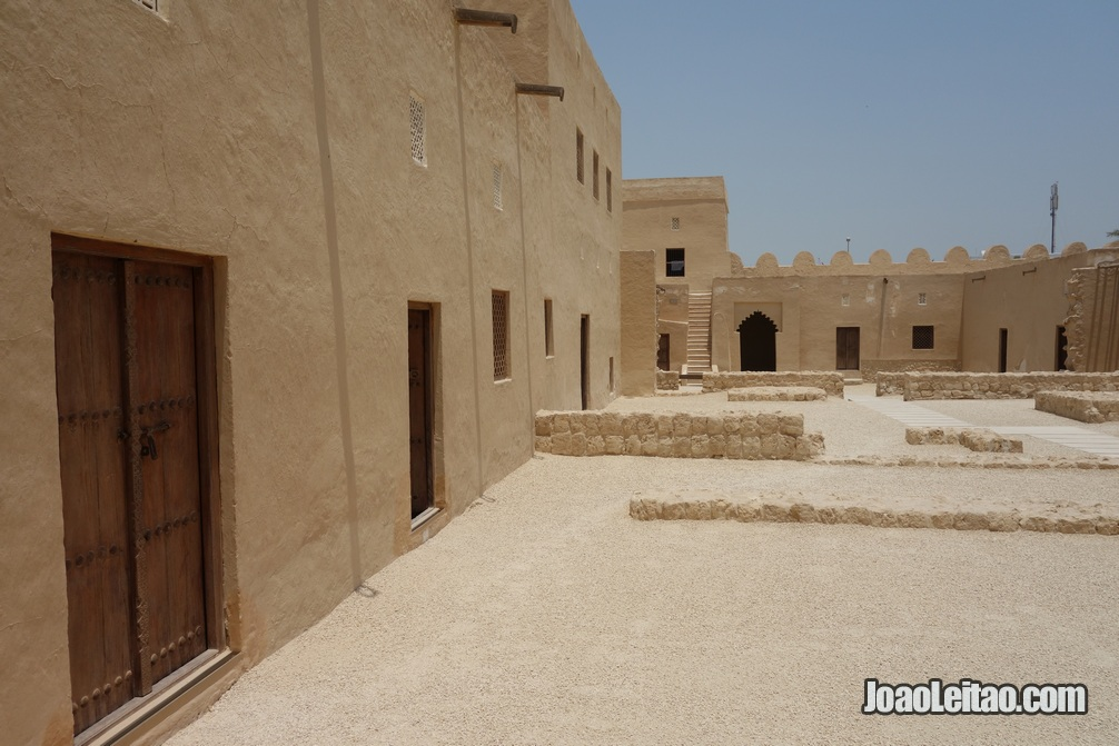 Forte de Riffa no Bahrein