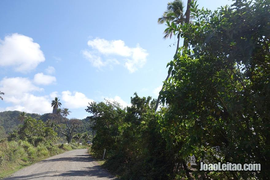 Fotografia da Ilha Ovalau nas Fiji