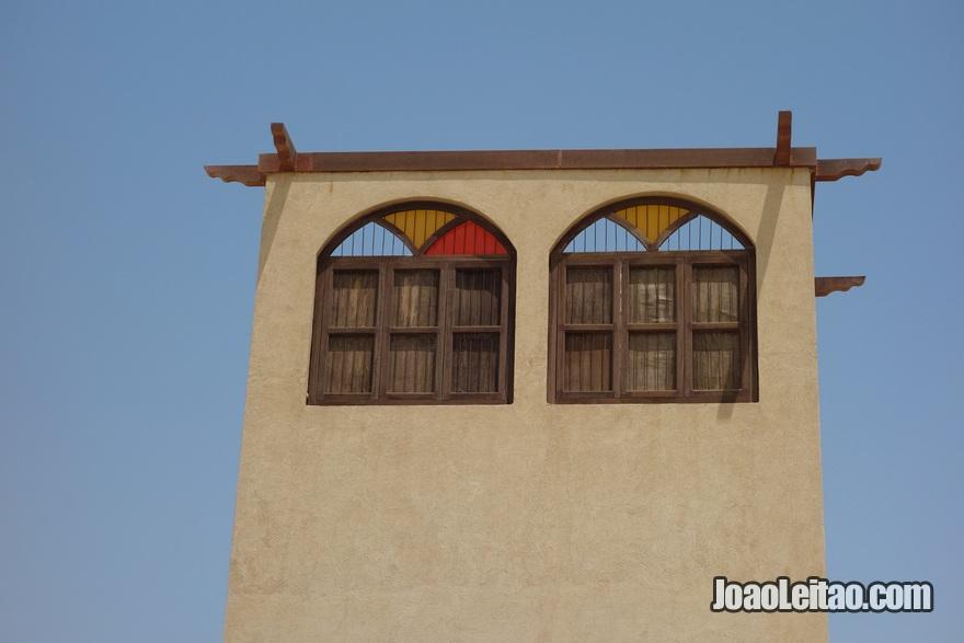 Casa com arquitectura tradicional em Doha