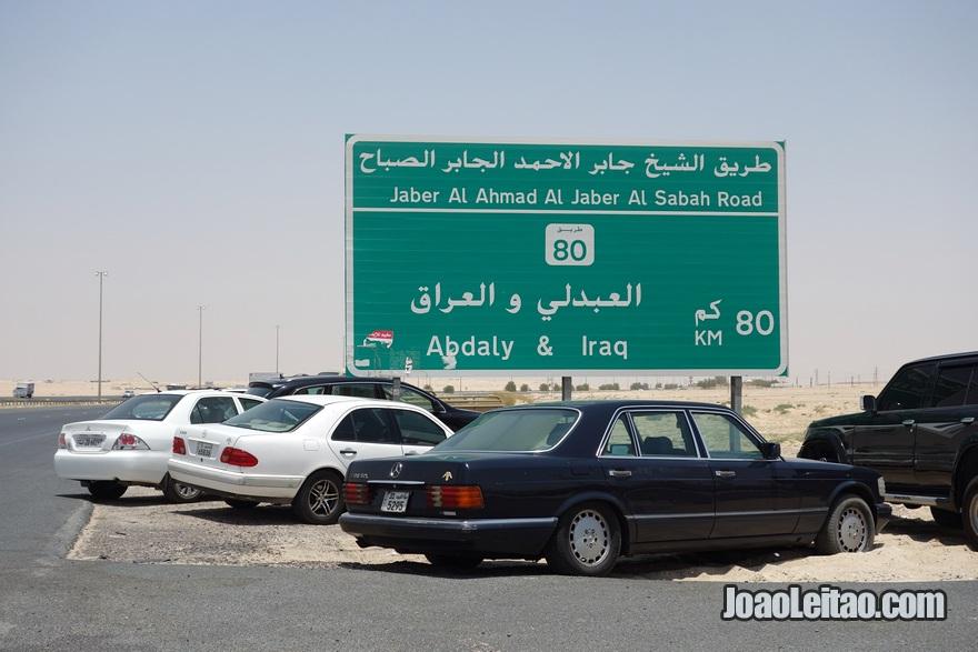 Autoestrada da Morte - Autoestrada 80 (rodovia Highway 80) no Kuwait