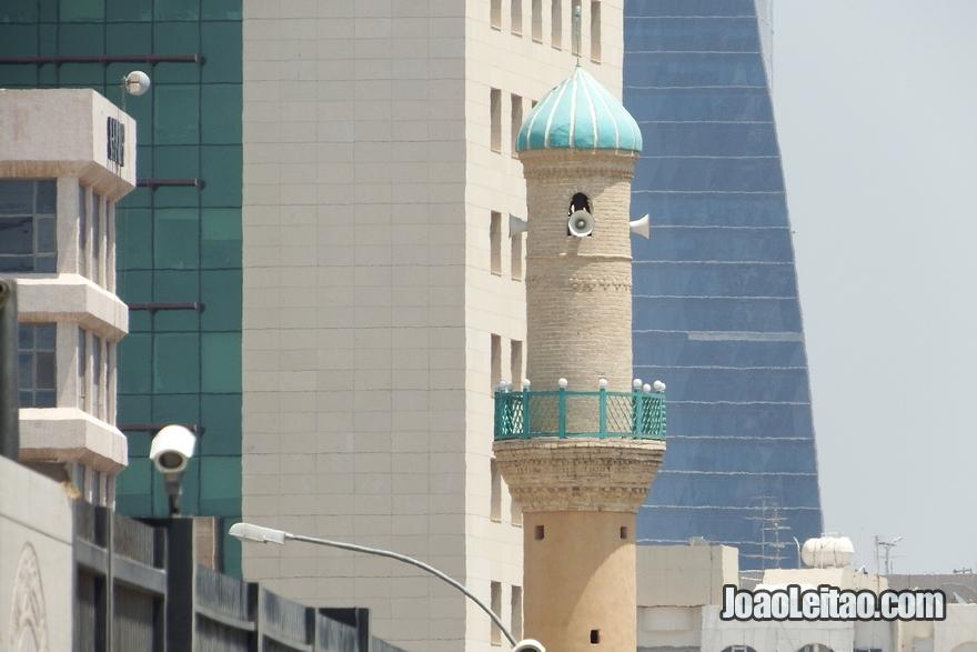 Mesquita no centro da Cidade do Kuwait