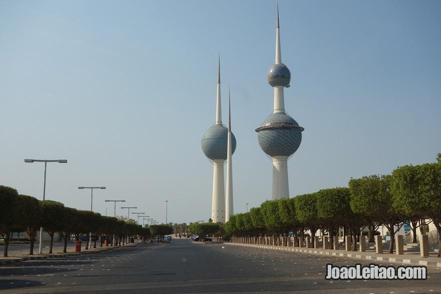 Torres Kuwait com 187 metros de altura