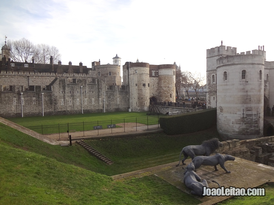 Vista geral da Torre de Londres