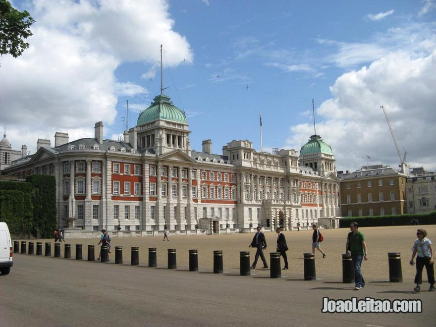 Lindo edifício da Horse Guards Parade