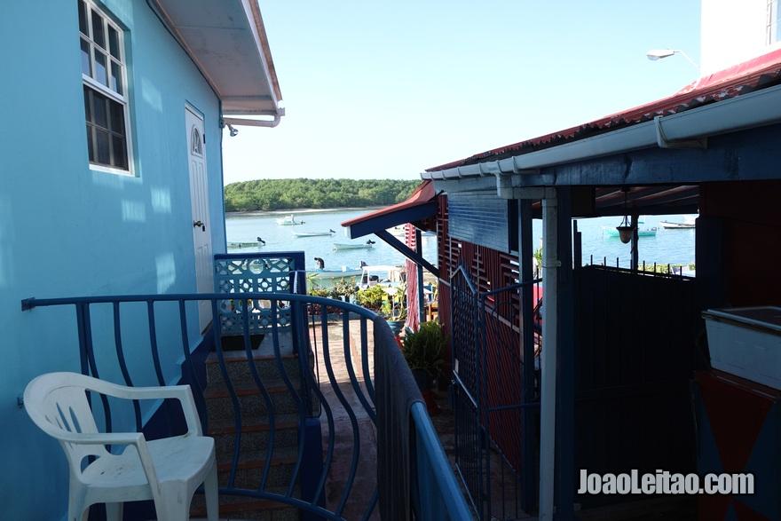 Vista da Guest House Miller's em Buccoo, Tobago