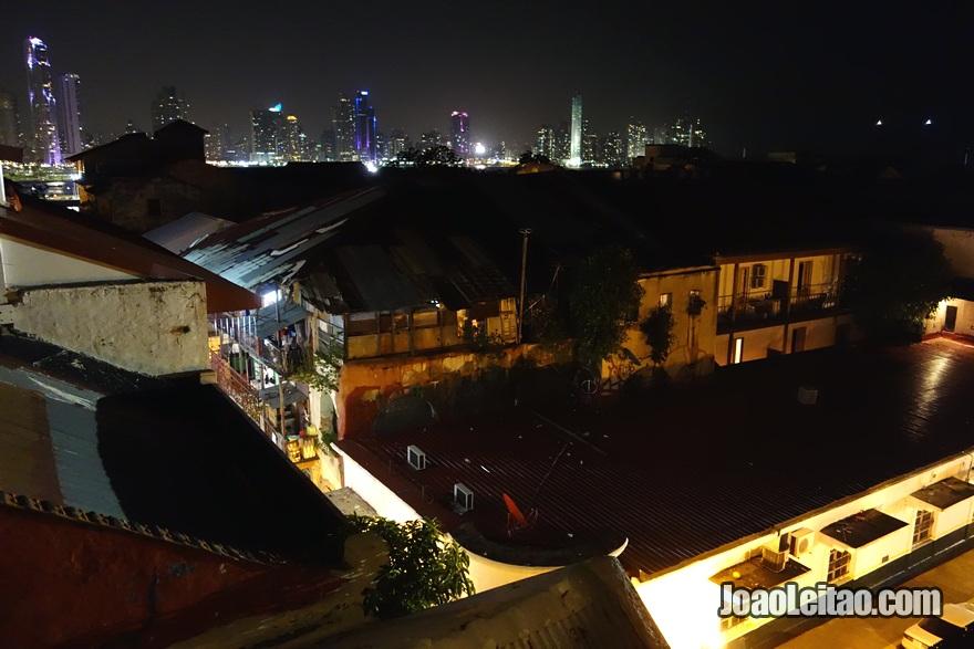 Vista do Hotel Magnolia Inn na Cidade do Panamá