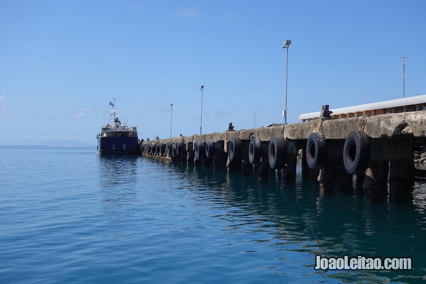 Porto de embarque de Levuka