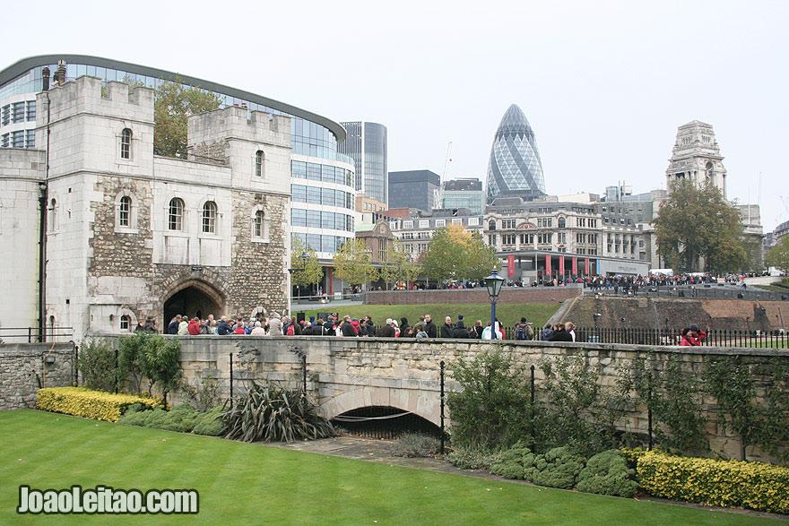 Entrada da Torre de Londres