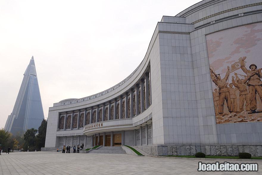 Museu da Guerra da Libertação em Pyongyang
