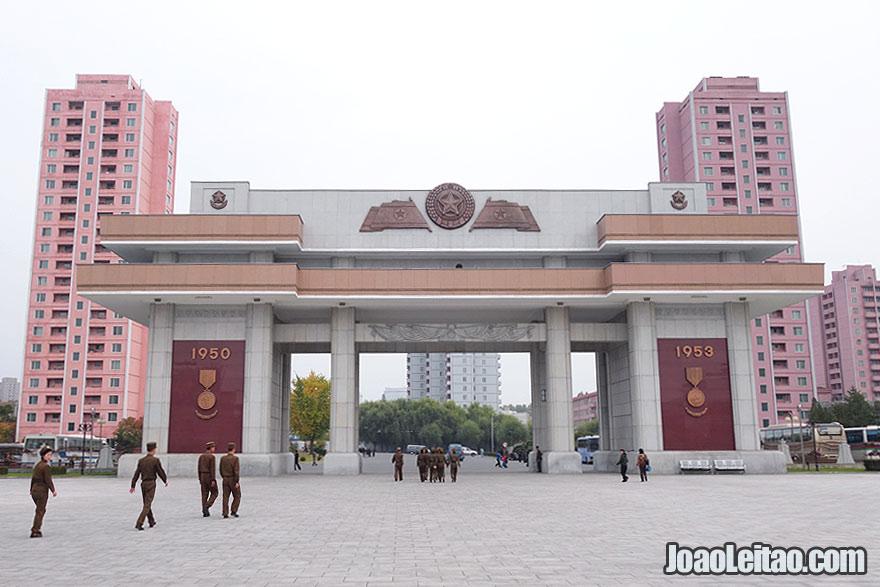 Entrada do Museu da Guerra de Libertação
