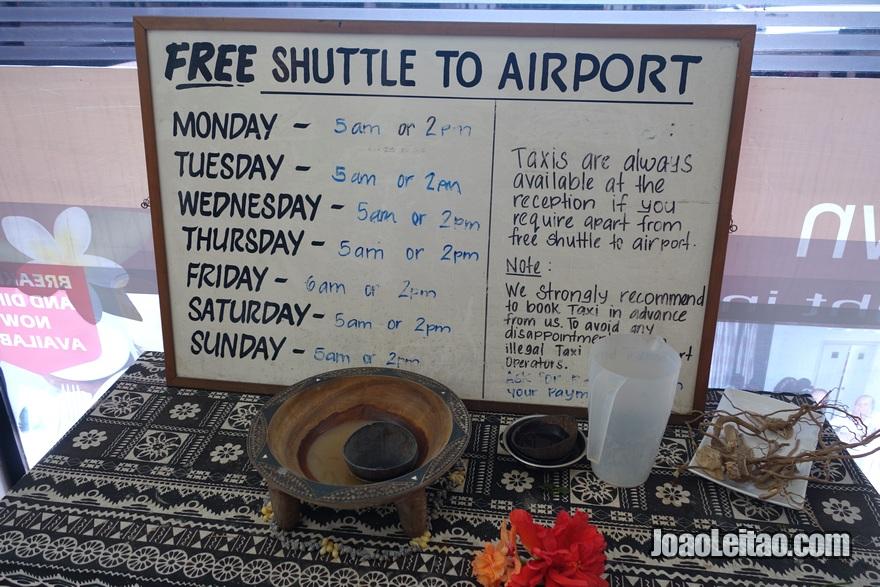 Info do Nadi Downtown Hotel nas Ilhas Fiji