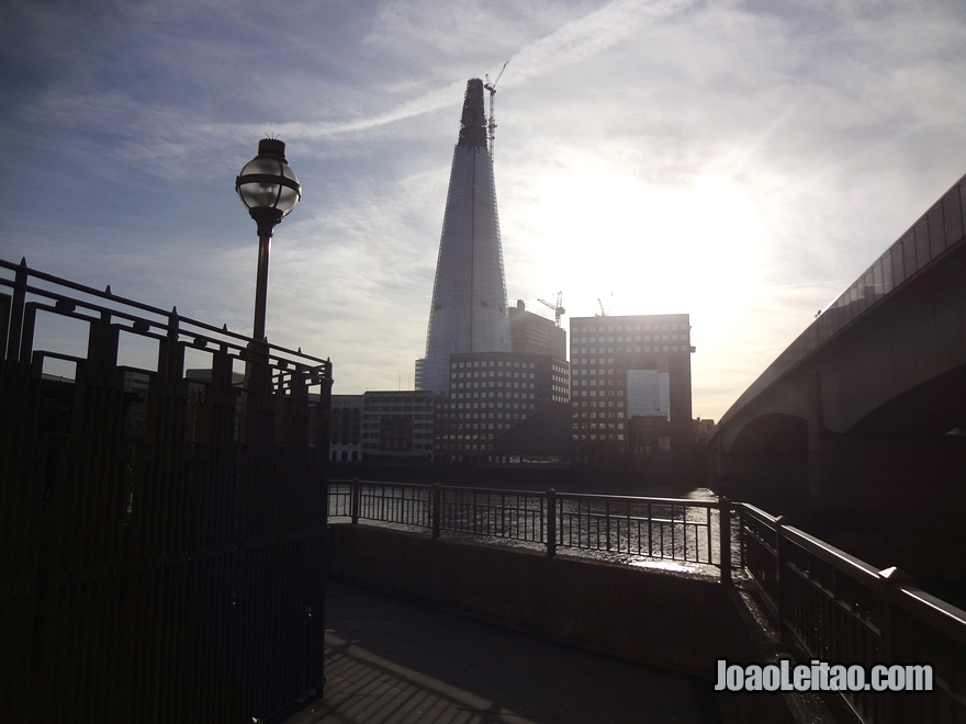 Arranha-céus Shard London Bridge em Londres